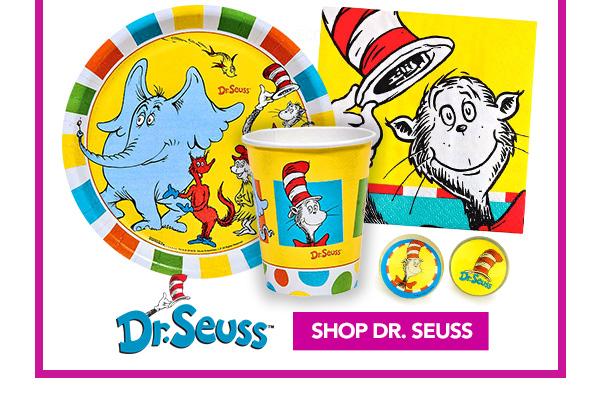 Shop Dr. Seuss Party Supplies